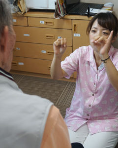 言語聴覚士によるリハビリテーション