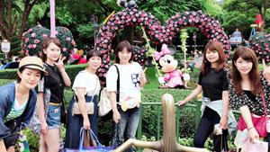 社員旅行・香港ディズニーランドにて