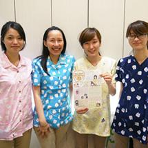 医院の制服のデザインを企画