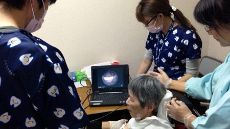 専門医による内視鏡検査